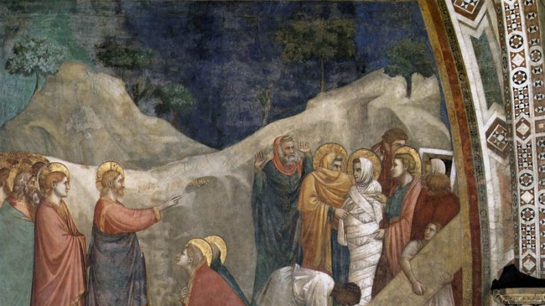 Lázaro e Jesus