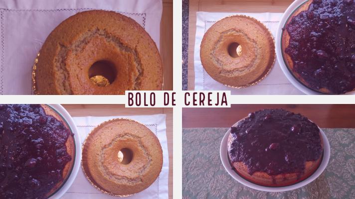 BOLO DE CEREJA