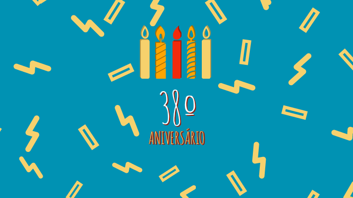 38º aniversário natalício