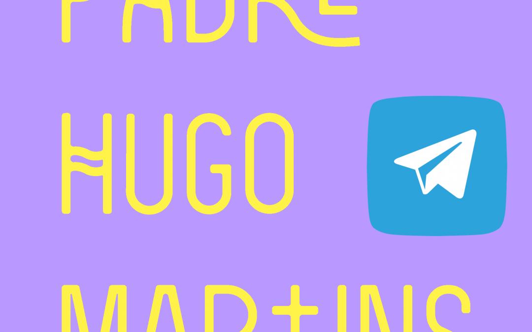 Padre Hugo no Telegram